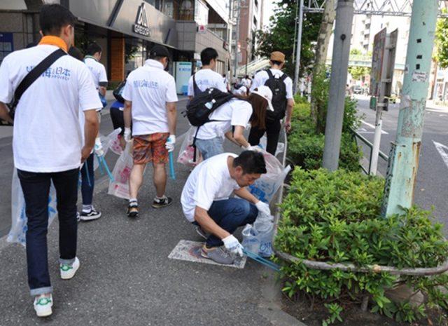 渋谷を綺麗にして美しい海を守ろう!渋谷スペシャルゴミ拾い