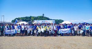 海ごみゼロウィーク、本格スタート!江の島でのキックオフイベントに428名が参加